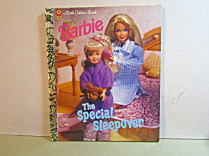 A Little Golden Book Barbie The Special Sleepover