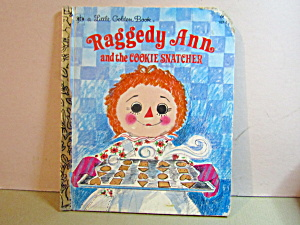 Golden Book Raggedy Ann And The Cookie Snatcher