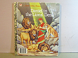 Little Golden Book Daniel In The Lions' Den
