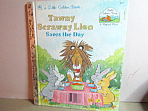 Little Golden Book Tawny Scrawny Lion Saves The Day