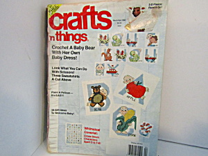 Vintage Magazine Crafts-n-things March/april 1990