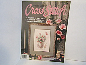 Vintagemagazine For The Love Cross Stitch March 1989