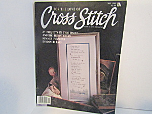 Vintagemagazine For The Love Cross Stitch May 1989