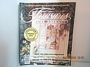 Vintage Magazine Treasures In Needlework Premier Issue