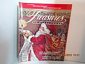 Vintage Magazine Treasures In Needlework Summer 1992