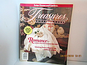 Vintage Magazine Treasures In Needlework Fall 1992