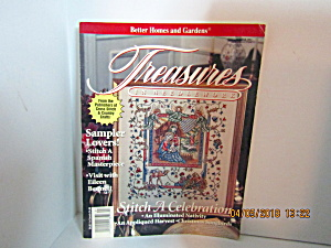 Vintage Magazine Treasures In Needlework Winter 1992