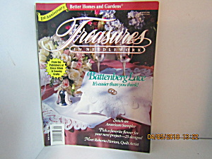 Vintage Magazine Treasures In Needlework Spring 1993