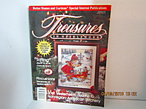 Vintage Magazine Treasures In Needlework Summer 1993
