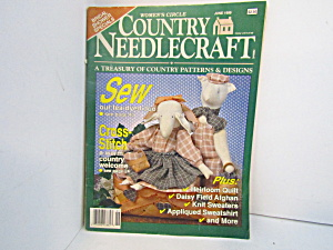 Vintage Women's Circle Country Needlecraft June 1989