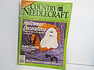 Vintage Women's Circle Country Needlecraft Oct.1989