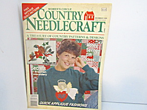 Vintage Women's Circle Country Needlecraft Dect.1989