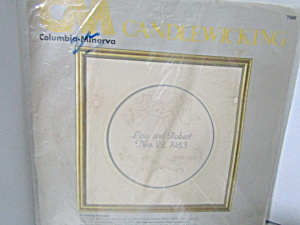 Columbia-minerva Candlewicking Wedding Sampler Kit