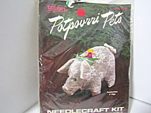 Titan Potpourri Pets Pig Needlecraft Kit