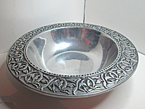 Vintage Rwp Wilton Co. Pewter Bowl