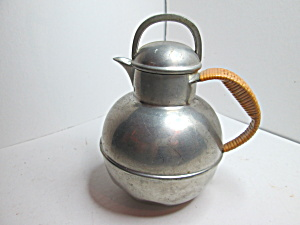 Vintage International Pewter Cream Pitcher
