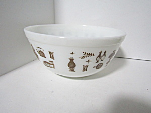 Vintage Pyrex Early American Stacking Bowl