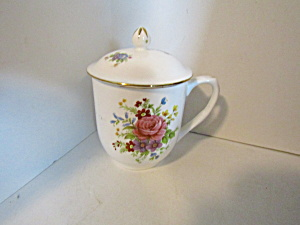 Vintage Salem China English Collection Covered Cup