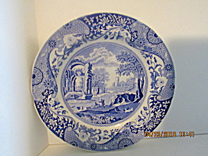 Vintage Spode Blue Italian Collection Dinner Plate