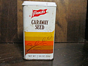 Vintage French's Caraway Seed Tin