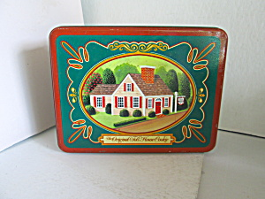 Vintage Rectangle Toll House Cookie Tin