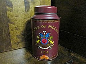 Vintage Tea Tin Jackson's Of Piccadilly