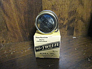 Vintage No-tweeze Hair Remover Tin