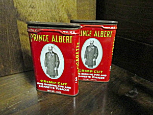 Vintage Prince Albert Pipe Tobacco Tin