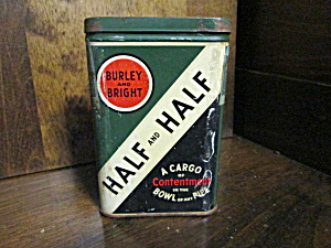Vintage Half And Half Tobacco Tin