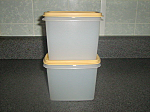 Vintage Tupperware New Rectangle Storage Containers