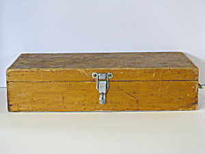 Vintage Storage Wood Box