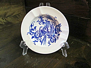 Vintage Wedgwood Etruria Cornflower Blue Ashtray