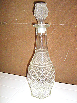 Anchor Hocking Wexford Vintage Decanter