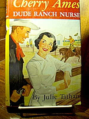 Vintage Cherry Ames Book #14 Dude Ranch Nurse