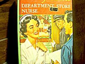 Vintage Cherry Ames Book #18 Department Store Nurse