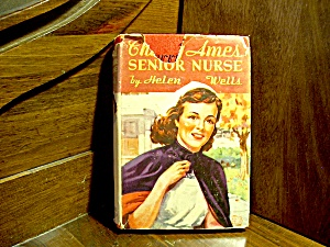 Vintage Cherry Ames Book #2 Senior Nurse