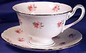 Wileman Gainsborough Footed Demi-tasse C&s