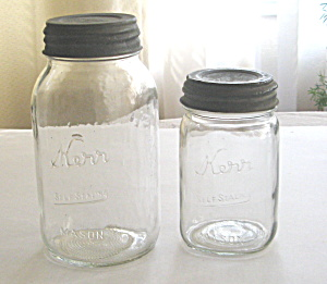 Kerr Self Sealing Quart And Pint Fruit Jars