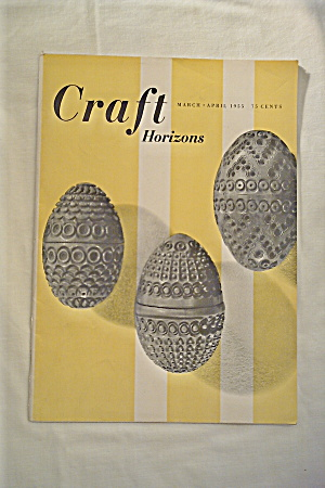 Craft Horizons Magazine Vintage 1955