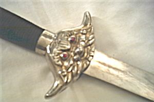 Sword Antique Pewter Novelty Swashbuckling