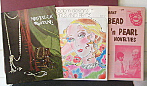 Beading Design & Instruction Booklets 1970