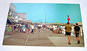 Vintage Photocard-north Of Montgomery Ave. Wildwood,nj