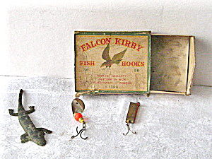 Fishing Lures Hooks Vintage 1950