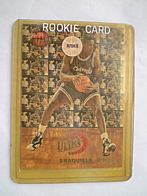 Shaquille O'neal 1992 Nba Rookie Trading Card