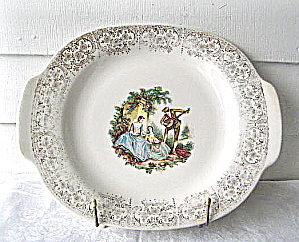 Limoges American China D'or Platter Guitarplay