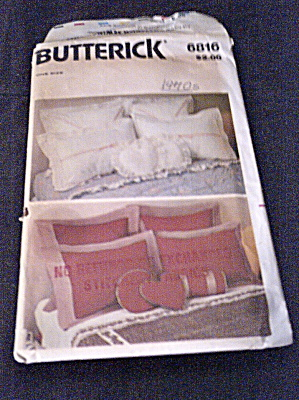 Vintage 1970s Assorted Pillow Patterns