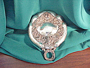 Shiebler Sterling Handled Dresser Mirror