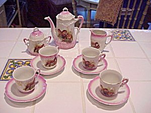 Rs Prussia Lion And Tiger Child Tea Set