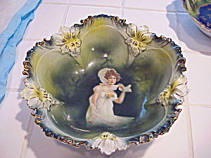Rs Prussia Pansy Mold Autumn Portrait Bowl
