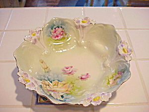 Rs Prussia Lily Mold Bowl In Bowl